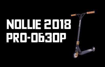 PRO обзор: трюковой самокат Nollie 2018