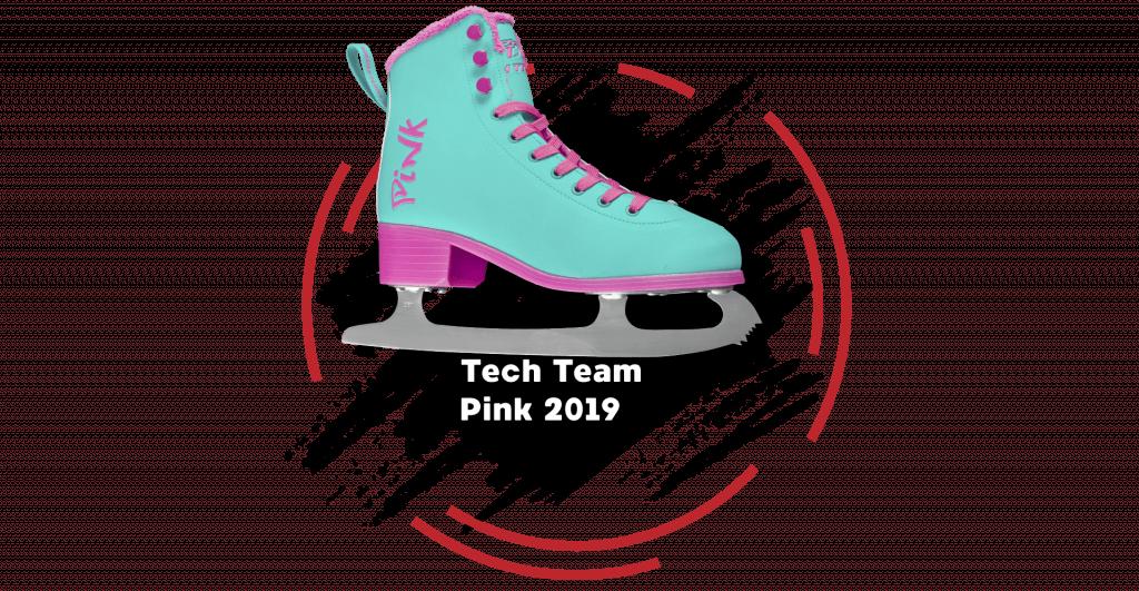 Фигурные коньки Tech Team