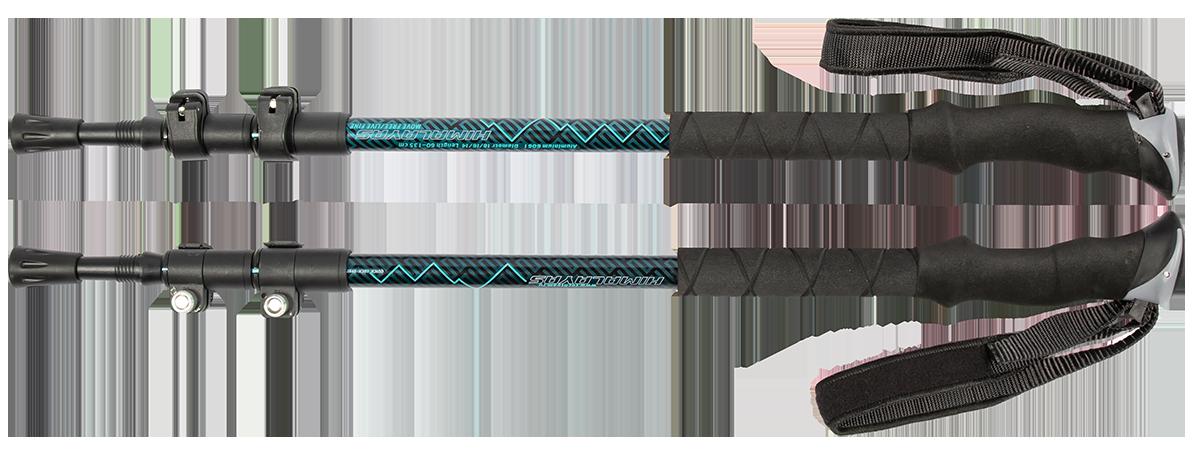Треккинговые палки TechTeam Himalayas черно-синий