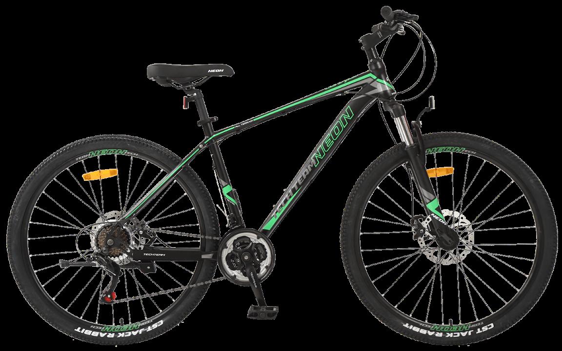 TechTeam Neon 27.5 черно-зеленый