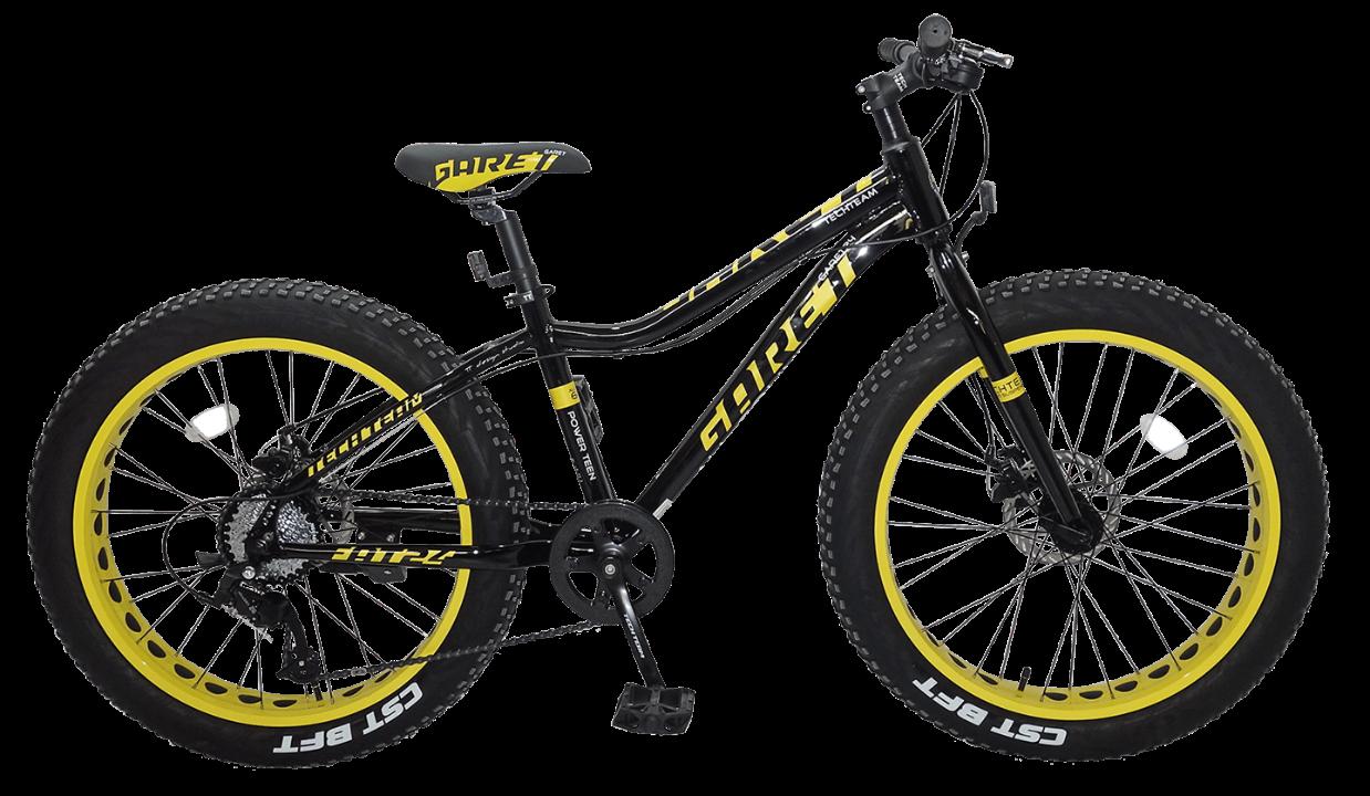 TechTeam Garet 24 2020 черно-желтый
