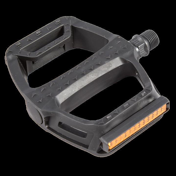 Педали пластиковые, со светоотражателями, FP-878ZU