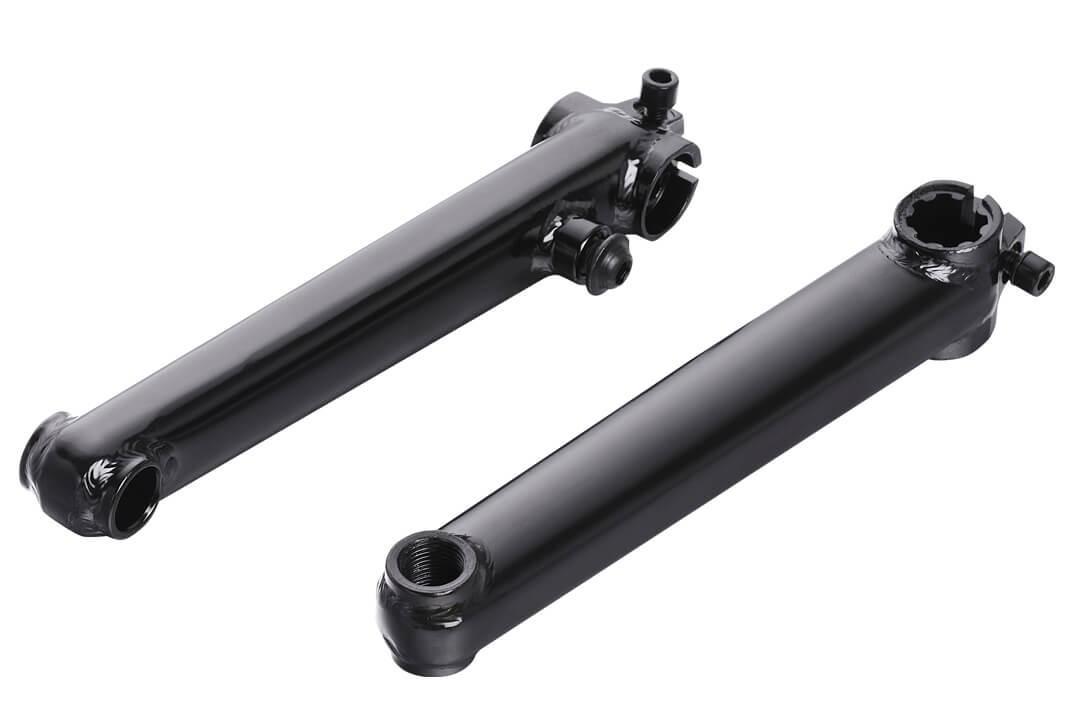 Шатуны Kenly KL-8901S 3-х компонентные D: 28,6 мм, полые, 170 мм, 8T-19mm, хром-молибденовый сплав, резьба 9/16
