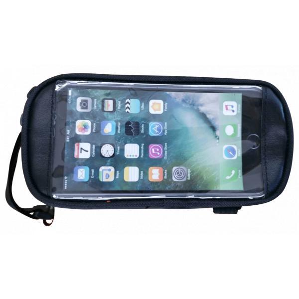 Сумка велосипедная на раму с карманом для смартфона (Артикул 83502)