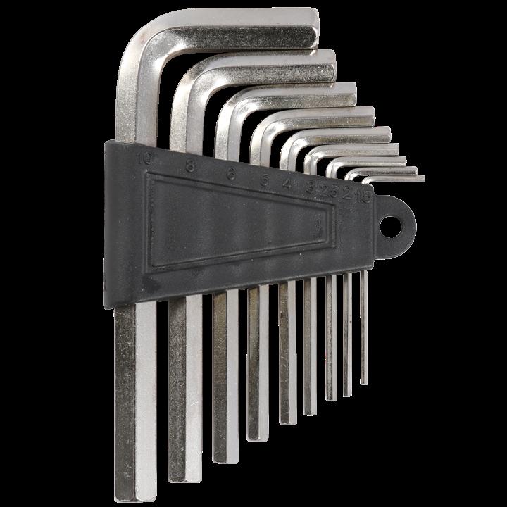 Набор шестигранников 9 штук 1.5-10 мм GJ-028