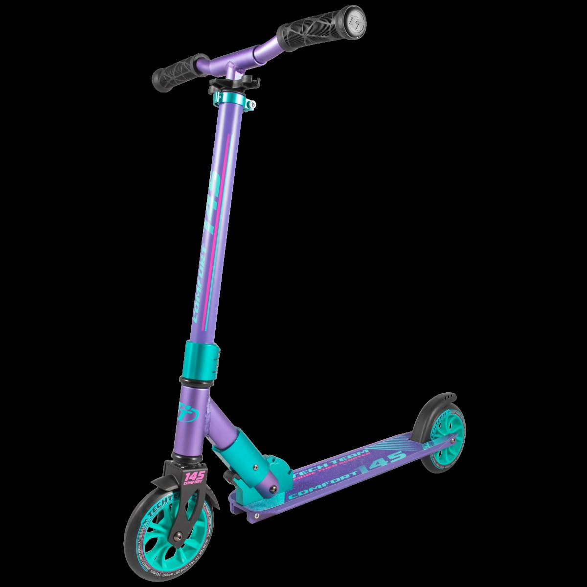 Самокат TechTeam 145 comfort 2019 фиолетовый