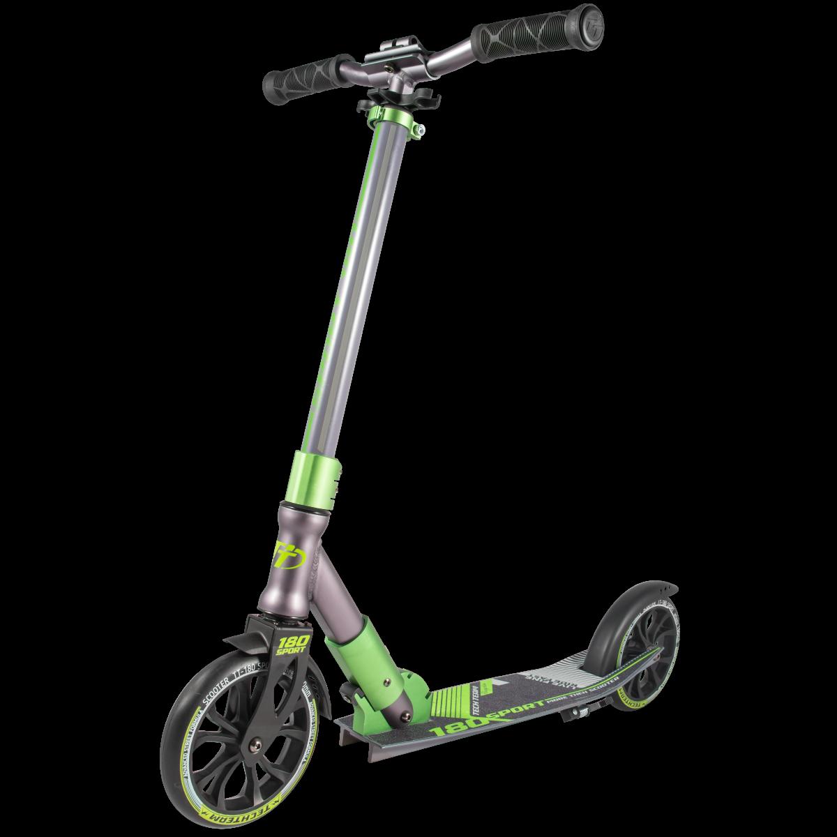 Самокат TechTeam 180 Sport 2019 зеленый
