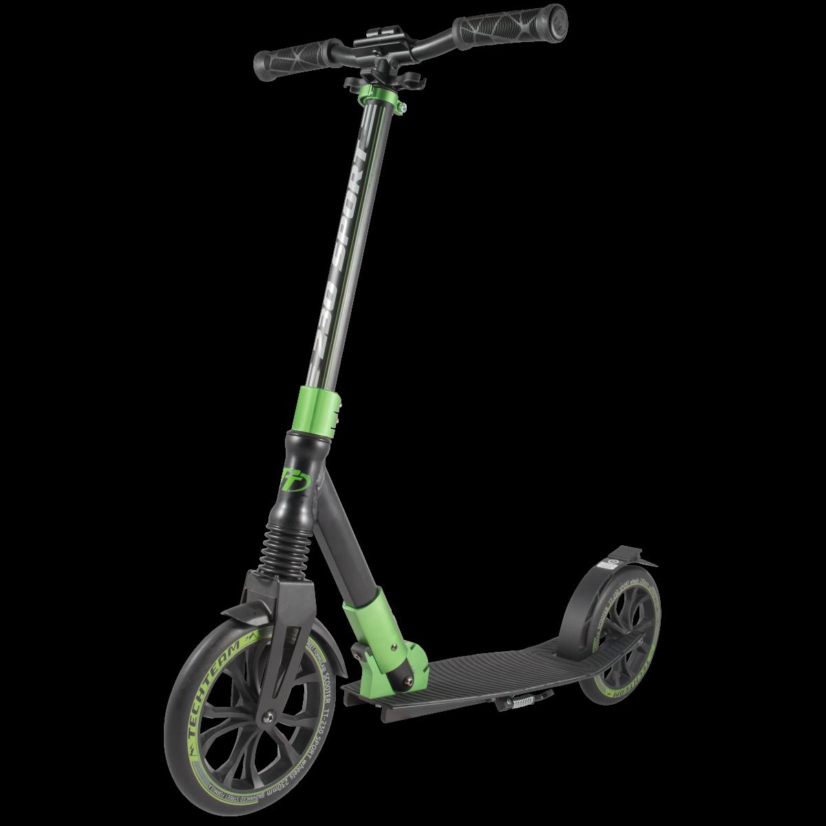 Самокат TechTeam 230 Sport 2019 зеленый