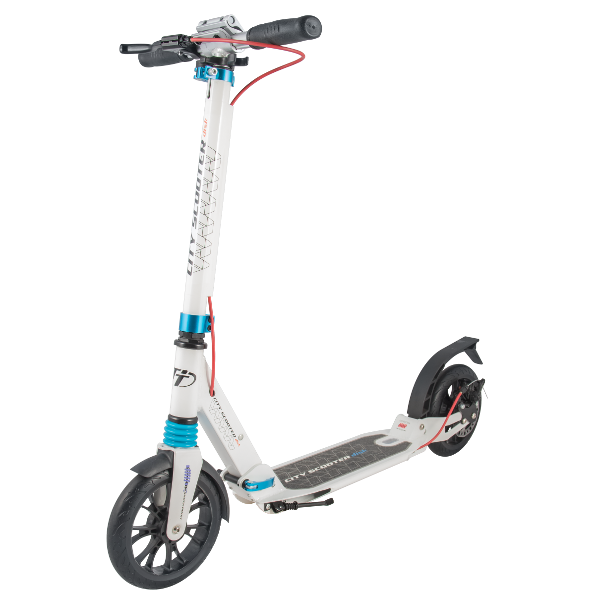 Самокат TechTeam City Scooter Disk Brake 2019 белый