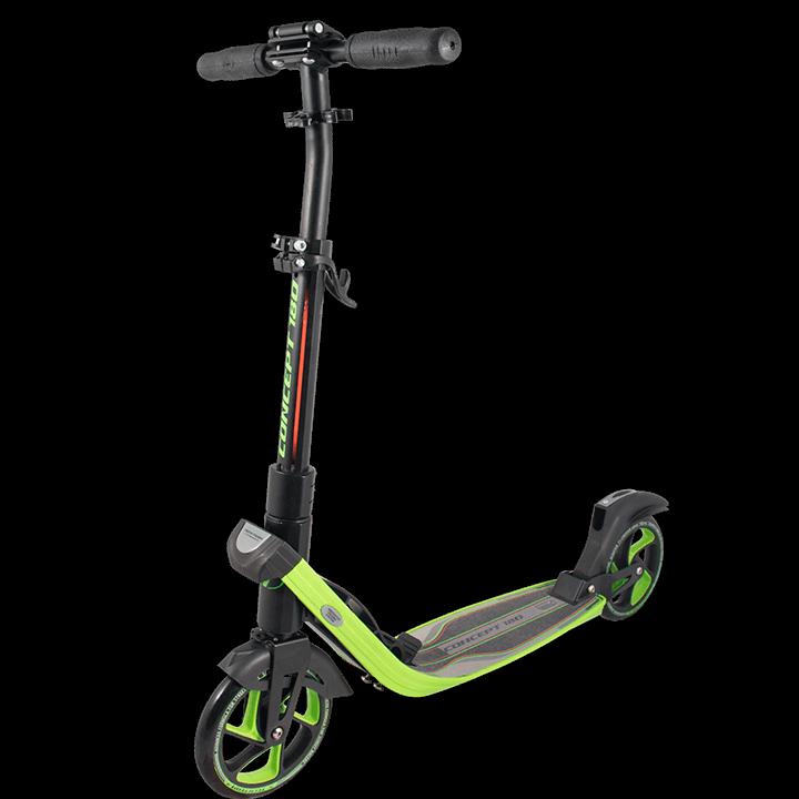 Самокат TechTeam Concept 180 2019 черно-зеленый