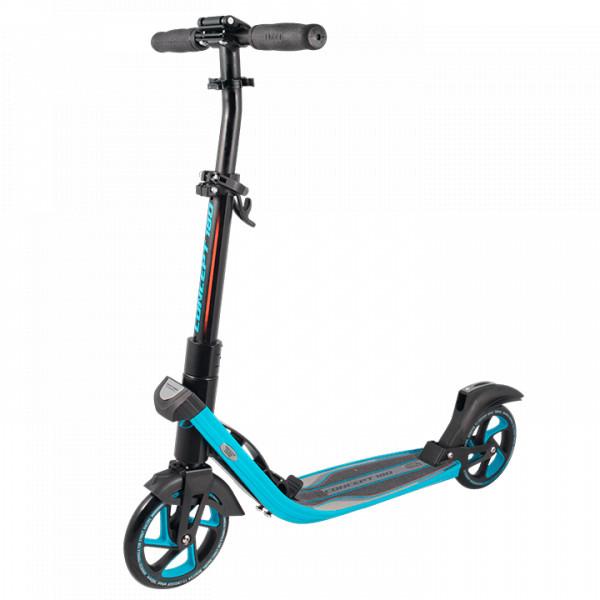 Самокат TechTeam Concept 180 2019 черно-голубой