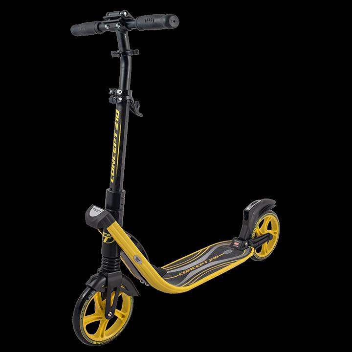 Самокат TechTeam Concept 210 2019 желтый