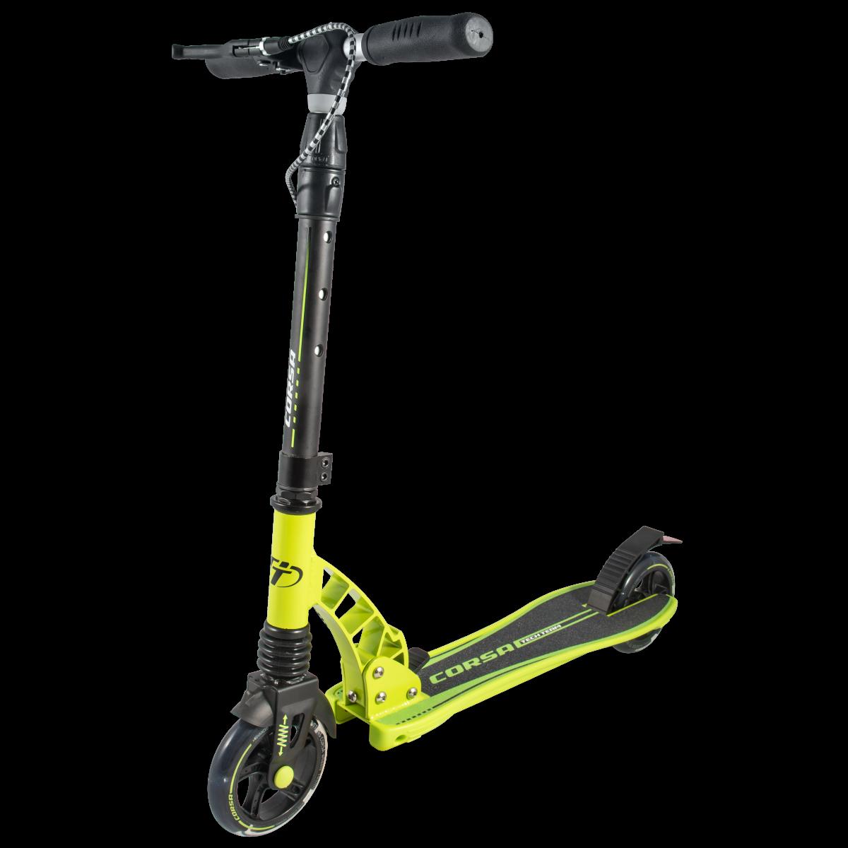 Самокат TechTeam Corsa 2019 желтый
