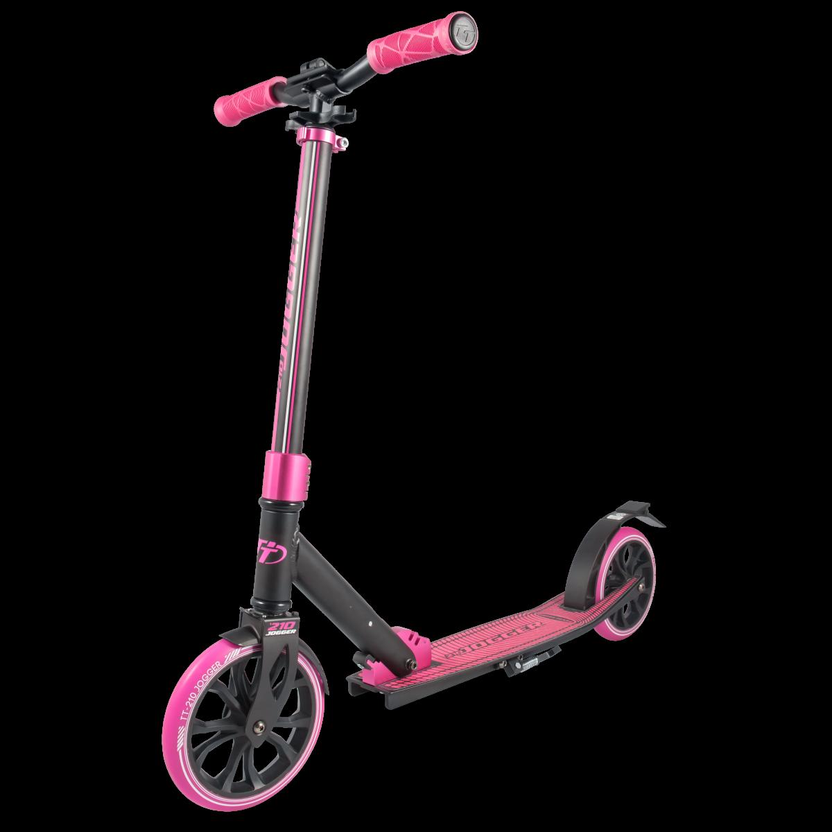 Самокат TechTeam Jogger 210 2019 розовый