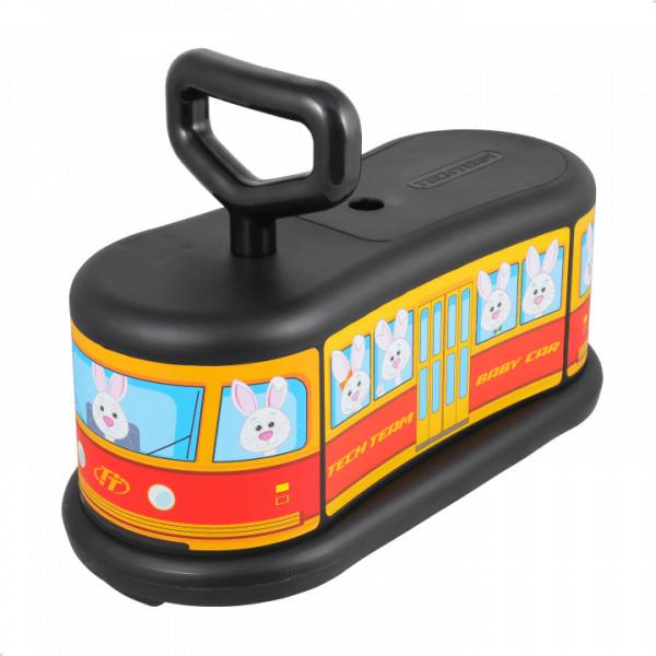 Детский самокат TechTeam Baby Car черный