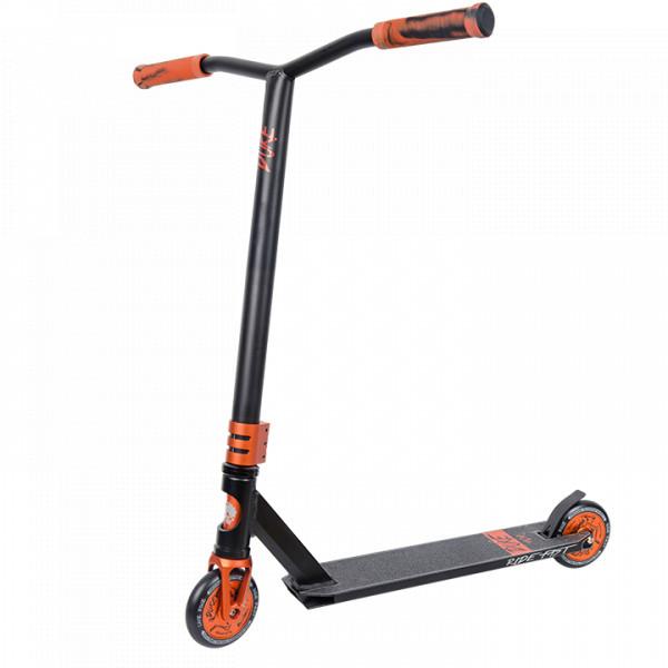 Трюковой самокат TechTeam Duke 404 оранжево-черный