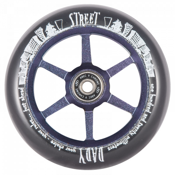 Колесо для трюкового самоката TechTeam 6ST 120 mm Street Dady