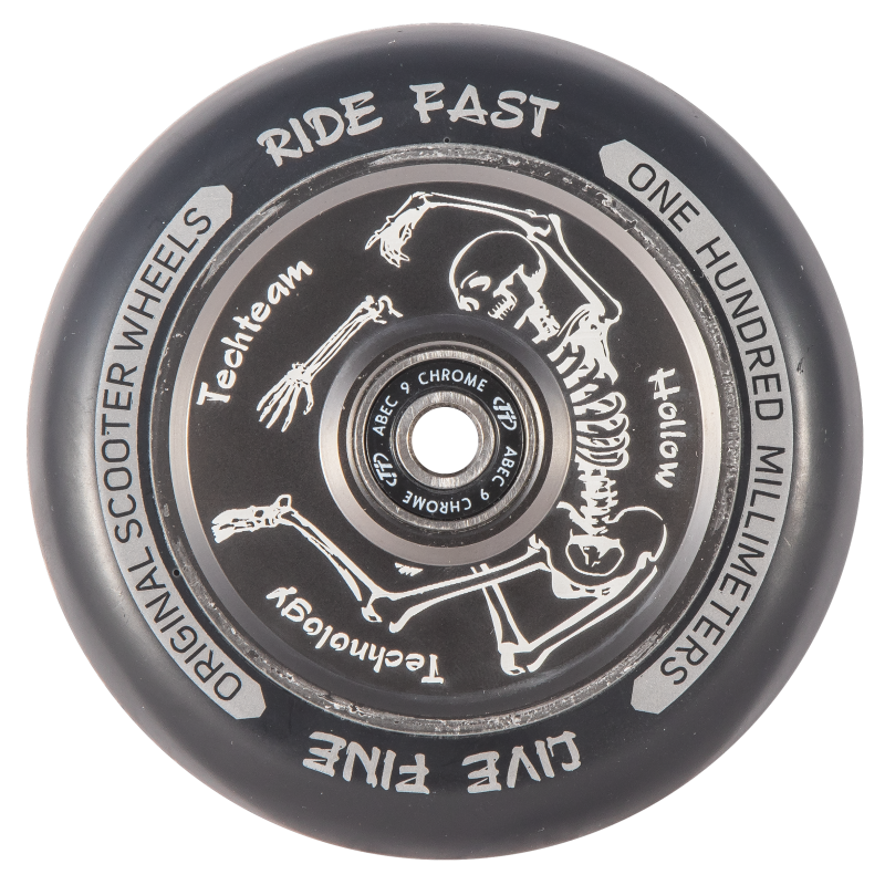 Колесо для трюкового самоката TechTeam Hollow 100 mm