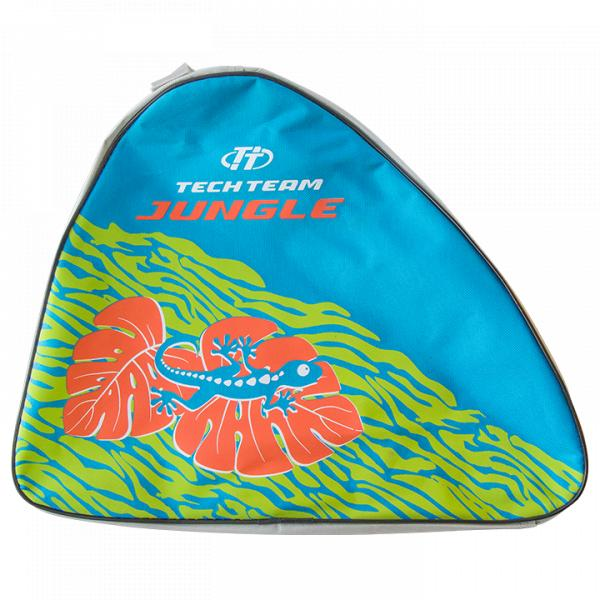 Набор роликовых коньков и защиты детский TechTeam сумка Jungle Set