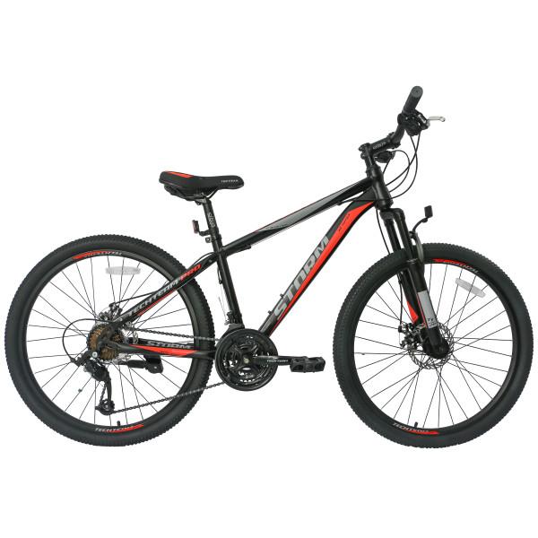 Горный велосипед TechTeam Storm 26 2019 черно-красный