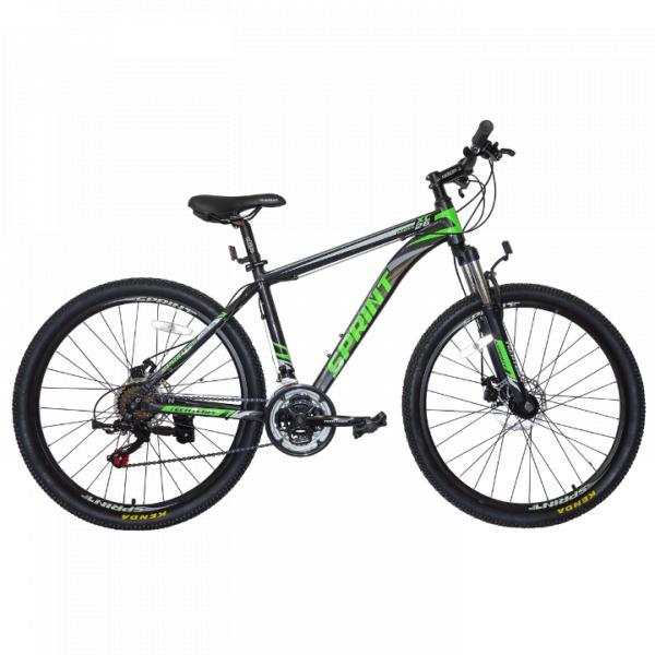 Горный велосипед TechTeam Sprint 26 2019 черно-зеленый