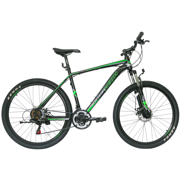 Горный велосипед TechTeam Neon 27.5 2019 черно-зеленый