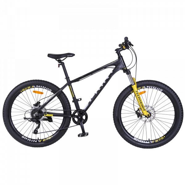 Горный велосипед TechTeam Sprint 27.5 2019 черный