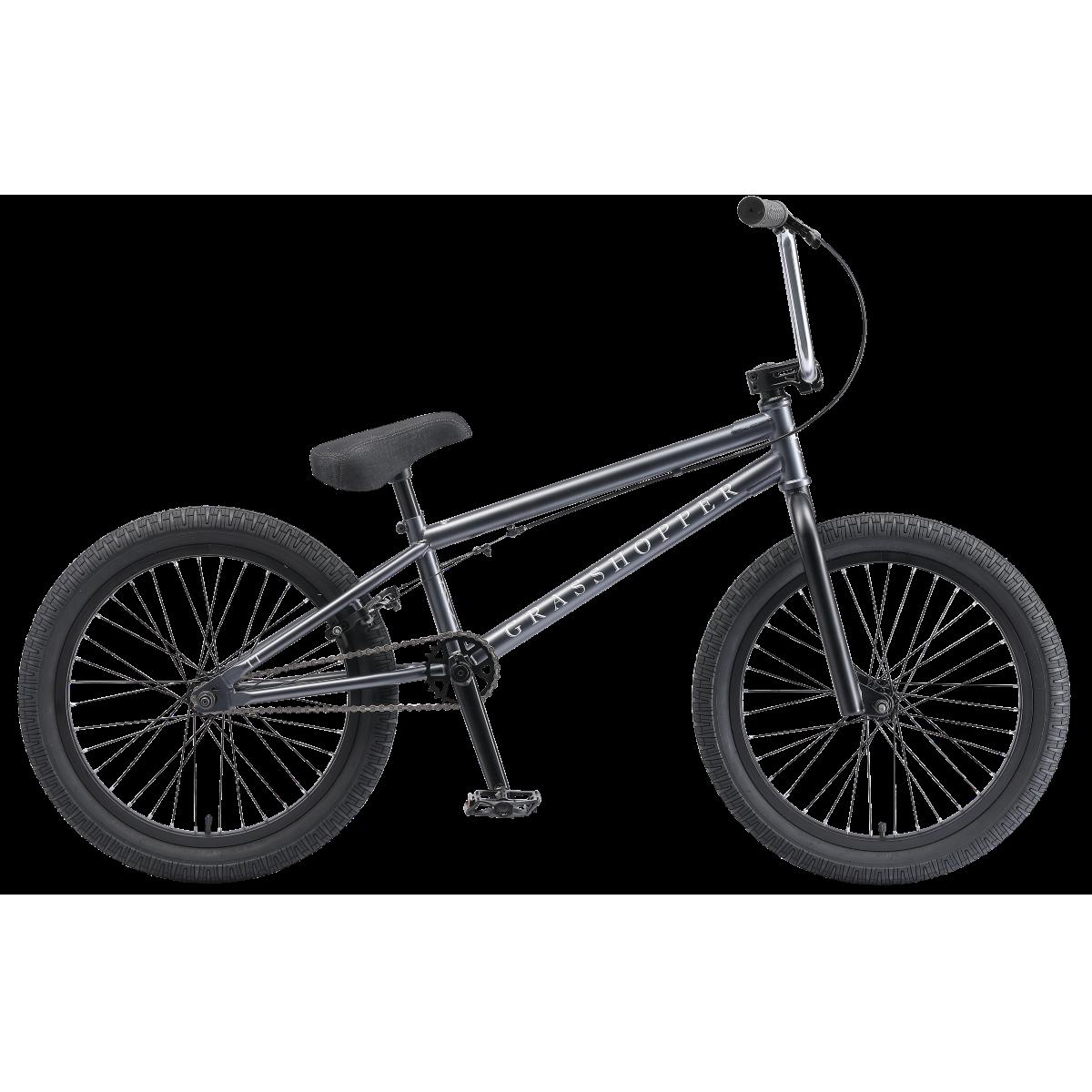 BMX велосипед TechTeam Grasshopper 2019 серый