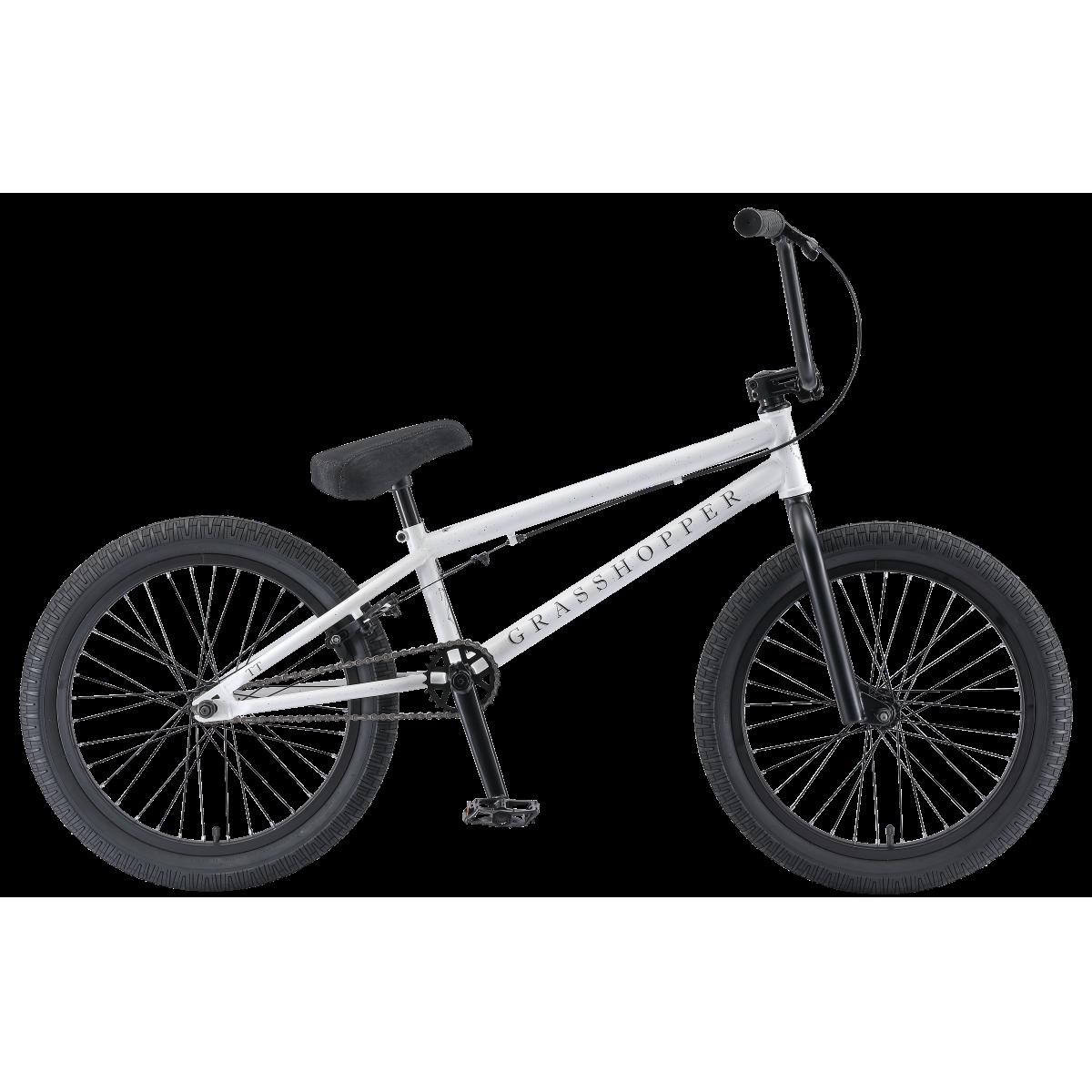 BMX велосипед TechTeam Grasshopper 2019 белый