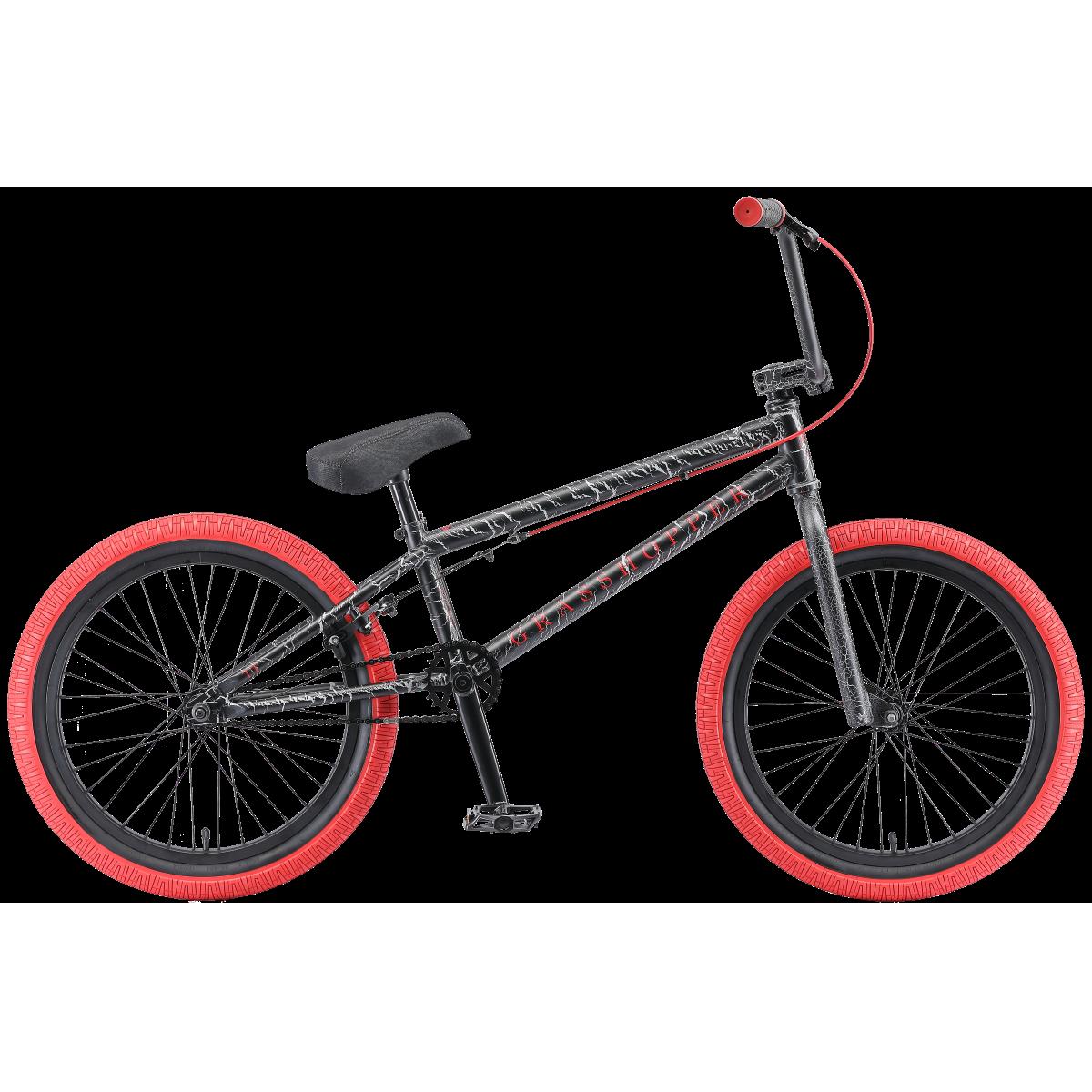 BMX велосипед TechTeam Grasshopper 2019 черный