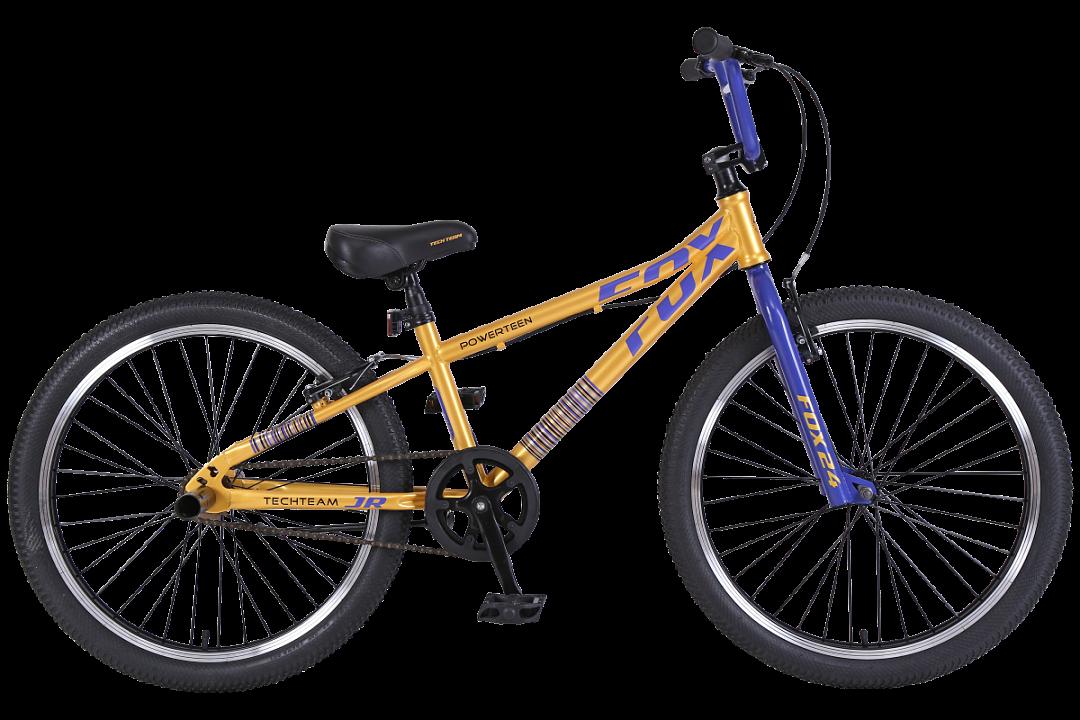 BMX велосипед TechTeam Fox 24 2019 желтый