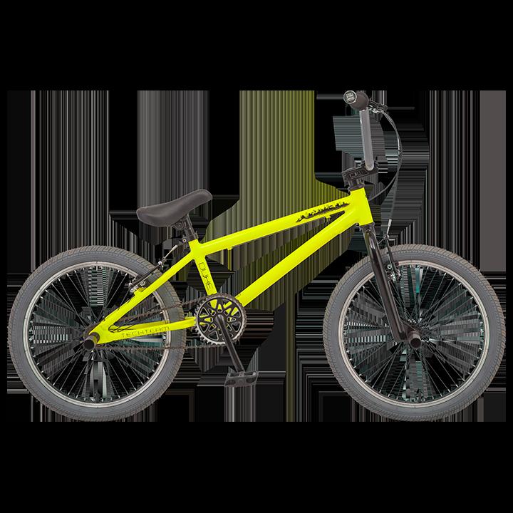 BMX велосипед TechTeam Duke желтый