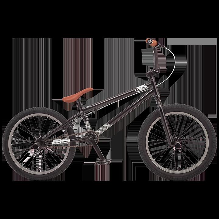 BMX велосипед TechTeam Level черный
