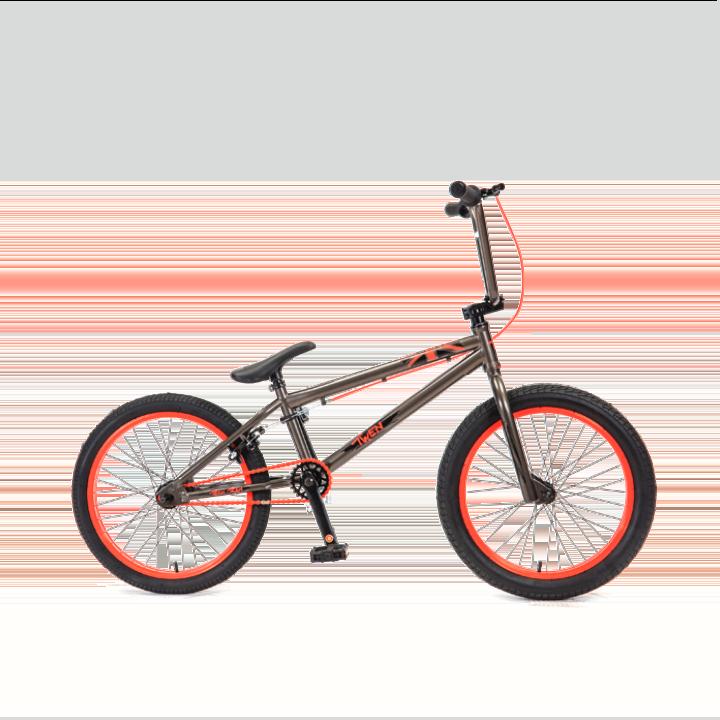 BMX велосипед TechTeam Twen черно-красный