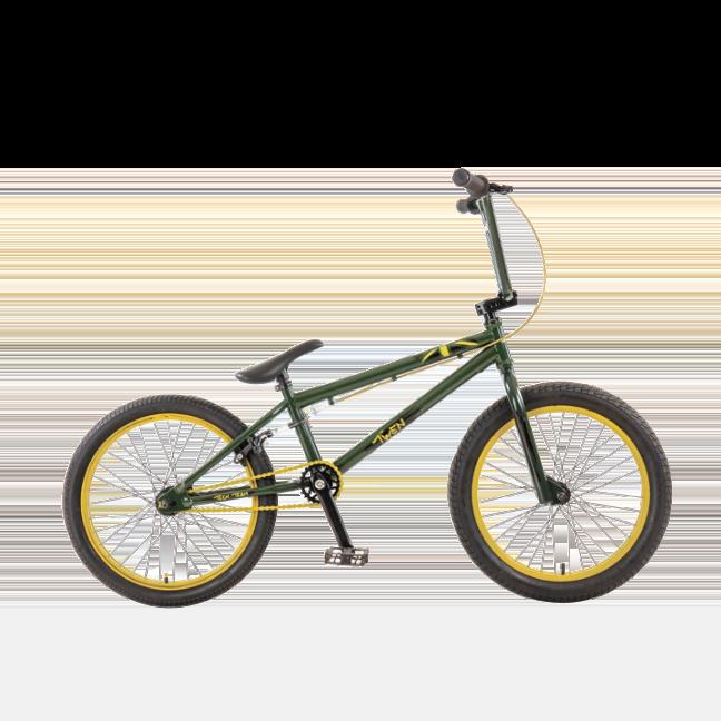 BMX велосипед TechTeam Twen черный
