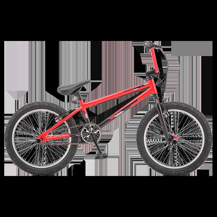 BMX велосипед TechTeam Jump красный