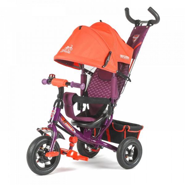 Трехколесный велосипед коляска TechTeam 950D-AT оранжевый