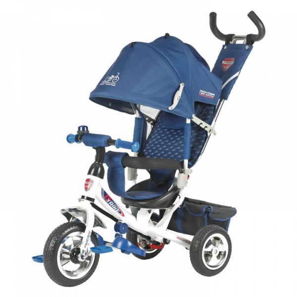 Трехколесный велосипед коляска TechTeam 950D синий