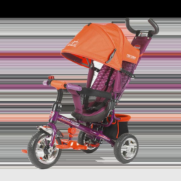 Трехколесный велосипед коляска TechTeam 952S оранжевый