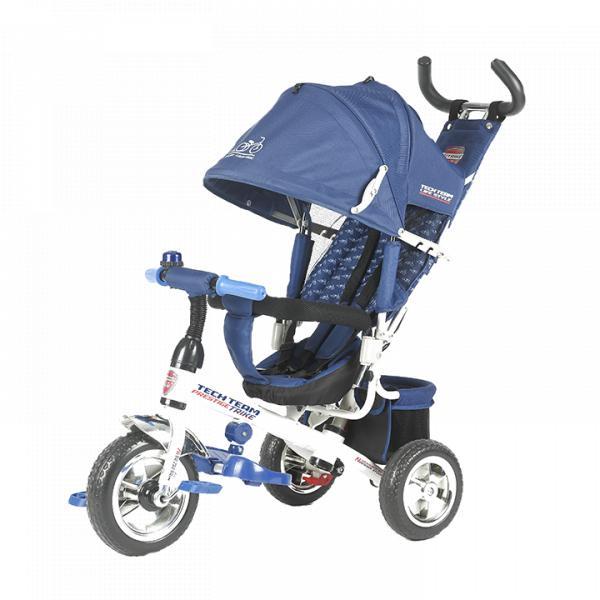 Трехколесный велосипед коляска TechTeam 952S синий