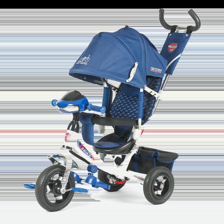 Трехколесный велосипед коляска TechTeam 950D-ATMH 2018 синий