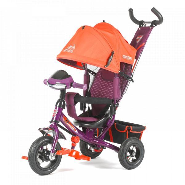 Трехколесный велосипед коляска TechTeam 950D-ATMH 2018 оранжевый