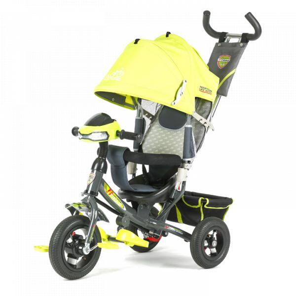Трехколесный велосипед коляска TechTeam 950D-ATMH 2018 желтый