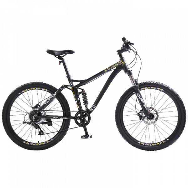 Велосипед двухподвесTechTeam Cross Way 27.5 черный