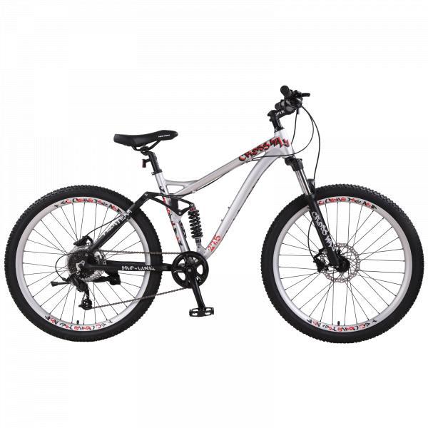 Велосипед двухподвесTechTeam Cross Way 27.5 белый