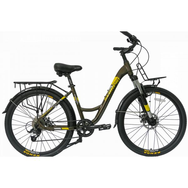 Женский велосипед TechTeam Scorpio 26 черный