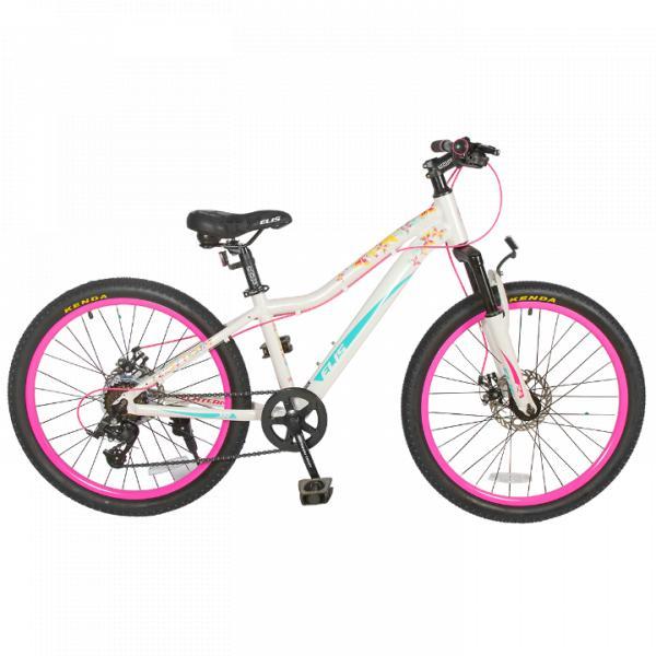 Женский велосипед TechTeam Elis 24 белый