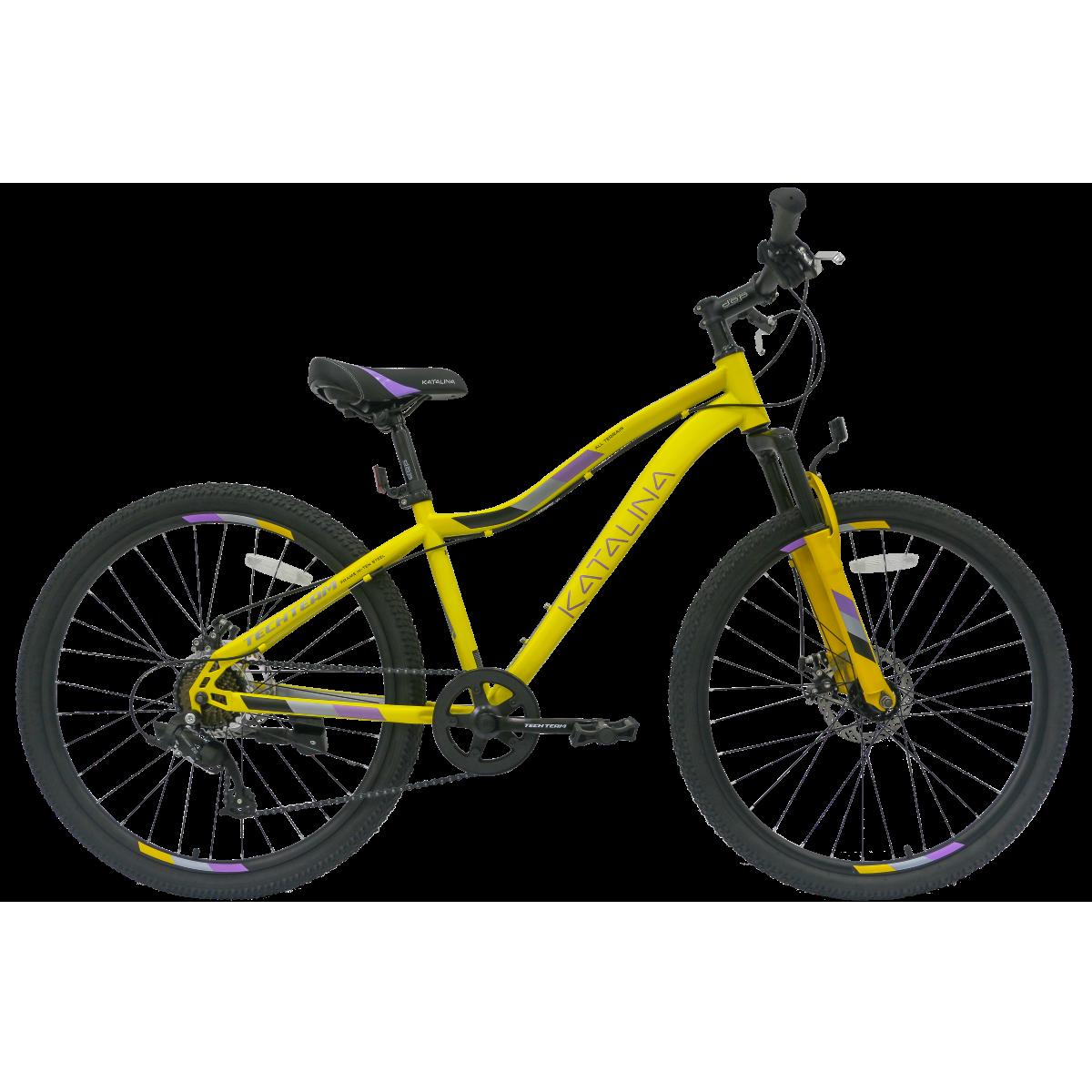 Подростковый велосипед TechTeam Katalina 26 желтый