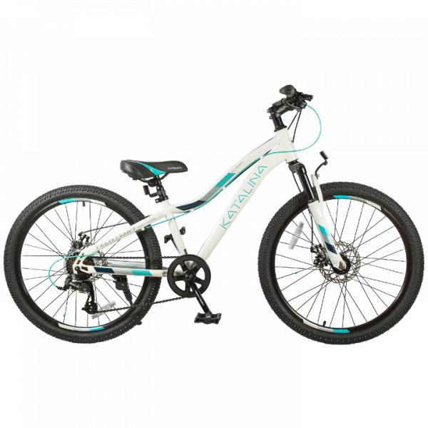 Подростковый велосипед TechTeam Katalina 24 белый