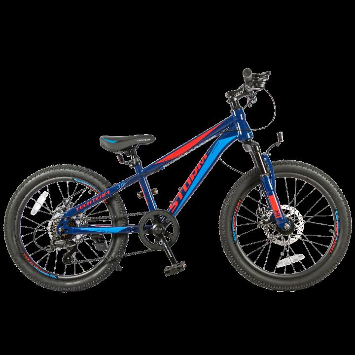 Подростковый велосипед TechTeam Storm 20 синий
